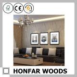 Marco de madera del cartel de la pintura del juego del hotel del negro real de la decoración