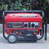 バイソン((h) 2kw 2kv中国) BS2500hのホーム使用法のためのAir-Cooled主開始電池式の携帯用ガソリン無声2000W発電機