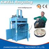 La machine hydraulique de presse pour l'animal familier en plastique de rebut met le baril en bouteille de bouteille du PE pp