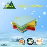 Hardcover professionale/busta del documento di derivazione di colore completo di alta qualità