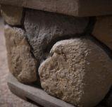 Pozzo Burning di legno del fuoco del tesoro del giardino del getto esterno della pietra