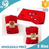 綿織物のフード付きタオル