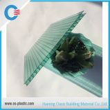 Green 6mm Twin Wall Polycarbonate Plastic Hollow Sheet