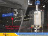 1t Tanque de mezcla de vacío hecho de Ss304 (tanque de mezcla de 1000L, con la bomba de vacío de 2.2kw)