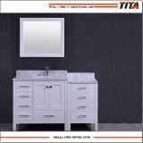 Vanité T9150-92W moderne de salle de bains en bois solide