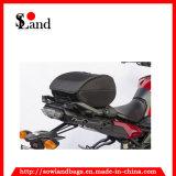 黒いカラーオートバイのサドル袋