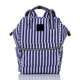 Backpack холстины нового военно-морского флота конструктора Unisex вскользь морского Striped Stripy/Daypacks