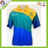 Cheap Custom Sublimation Company e camicia di polo dell'uniforme scolastico