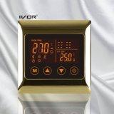 Bodenheizung-Thermostat-Noten-Schalter-Metallrahmen (SK-HV2000L8-M)