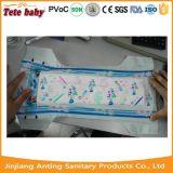 Tecido descartável macio do bebê do tecido confortável barato do bebê da etiqueta confidencial do OEM do preço