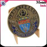 広東省の製造者の卸売の骨董品の青銅のカラーによって満たされる金属の硬貨