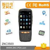 Almacén del inventario usar el colector de datos terminal del código de barras Handheld PDA