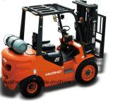 2.5Ton il CE Gasoline/LPG si raddoppia carrello elevatore a forcale del combustibile (HH25Z-BY1-GL, colore arancione)