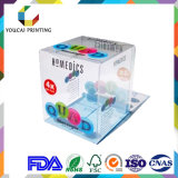 PVC/애완 동물 PP는 투명한 플레스틱 포장 상자를 지운다