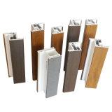 Película de estratificação fria do PVC da grão de madeira para perfis de U-PVC