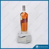 Qualitäts-Kristallwein-Flaschen-Bildschirmanzeige-Unterseite (HJ-DWL03)