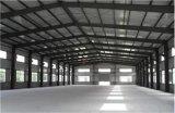 Struttura d'acciaio prefabbricata chiara per il magazzino, fabbrica, garage