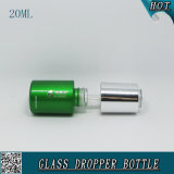 бутылка эфирного масла косметической жидкостной бутылки капельницы сыворотки сути 20ml алюминиевая