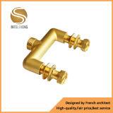 Múltiple de cobre amarillo forjado del tubo de Pex de 4 maneras para la calefacción por el suelo