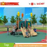 Slide parque de atracciones al aire libre plástico para la venta