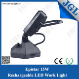 indicatore luminoso ricaricabile del lavoro dell'interfaccia LED del USB 15W con la base del magnete