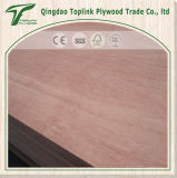 18mm Shandong 4 * 8 Okoume Face / Back Eucalyptus Core Hardwood Plywood
