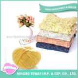 Chandail de tricotage à la main coloré de l'hiver de laines de mode long