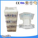 Couche-culotte remplaçable de bébé de coton avec la bande magique de S-Forme