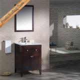 Черноты тщеты ванны твердой древесины Fed-1961A шкаф ванны самомоднейшей самомоднейший