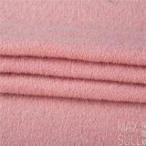 Tela merina de las lanas del 100% para el invierno en rosa claro