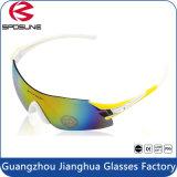 A forma Anti-Risca óculos de proteção de ciclagem dos esportes dos óculos de sol UV400 do esporte do Ce En166 para a bicicleta