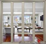 Дверь складчатости Hotsell цены по прейскуранту завода-изготовителя Китая самая дешевая алюминиевая
