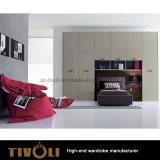 침실 옷장 내각 아파트를 위한 주문 가구 옷장은 Tivo-0070hw를 계획한다