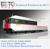 машина лазера CNC 2000W Ipg с двойной таблицей (EETO-FLX3015)