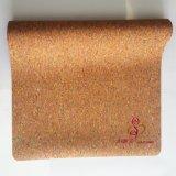 Cork van de Douane van de Basis van het Natuurlijke Rubber van Eco de Vriendschappelijke Zachte Mat van de Yoga