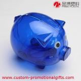 Tirelire en plastique bon marché personnalisée de mode de modèle de porc
