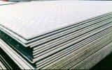 Baixas placas de aço Checkered padrão de alta elasticidade principais do carbono Q235