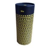 Коробка твердого круглого бумажного подарка свечки упаковывая для заказа OEM