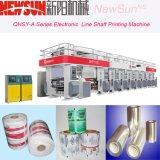 Qhsy-a elektronische Zeile Gravüre-Drucken-Maschine der Welle-300m/Min