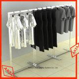 Cremalheiras de indicador do metal da roupa/carrinho indicador eretos do vestuário para a loja