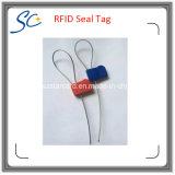 RFIDのF08チップが付いている鋼鉄シールの札