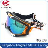 Lunettes de ski de lentille de Revo polarisées par bâti noir antibrouillard incassable de sports en plein air de lunettes de sûreté de planche à roulettes de neige de traitement de nouveauté
