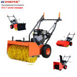 4 en 1 Multifonctionnel 65cm Largeur Essence Snow Sweeper Snow Blower
