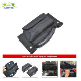 J248 Black Car Roll Bar Grab Handles avec sac de rangement / poche pour Jeep Jku Wrangler