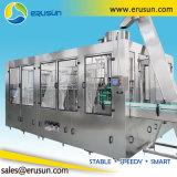 Machine de remplissage carbonatée par remplissage froid de boissons de bouteille en verre