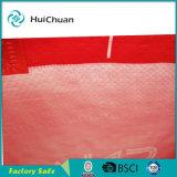 Bolso tejido ultrasónico rojo promocional