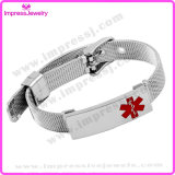 China-Grossist-runde Verriegelungs-medizinisches Charme-Armband