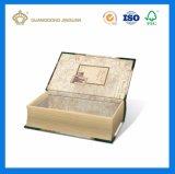 Выполненная на заказ бумага с покрытием декоративная книга форменный коробки оптовые (первоначально классическая конструкция)