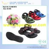 Späteste Art-Fußbekleidung EVA-Mann-Sandelholze mit Flausch-Gewebe-Oberleder