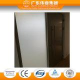 90 Serien-thermischer Bruch-Aluminiumplatten-Schwingen-Tür mit Dekoration-Glas